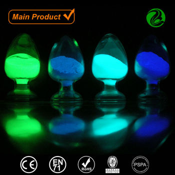 High luminous pigment powder