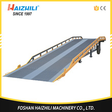 Alibaba china supplier material handling tools loading and unloading mobile dock leveler