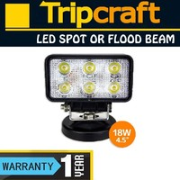 Wholesales! 10PCS/LOT! 18W LED WORK LIGHT Spot Flood for 4x4 OFF ROAD ATV TRUCK BOAT UTV