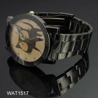 Cute Cat Fashion Hot Sale Diamond Bezel Alloy Watch