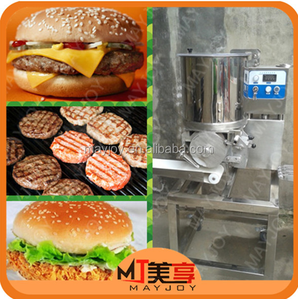 Mayjoy Hot Selling Commercial Automatic Hamburger Patty Maker/automatic Burger Patty Forming Machine