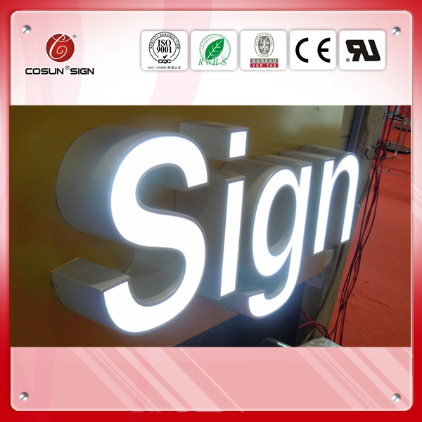 brightness Epoxy resin led lighting channel letter supplies