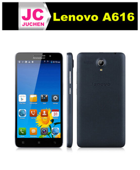 Original Lenovo A616 5.5 inch Quad Core Dual SIM 4G White/Black mobile phones Rom 4GB 5.0MP 4G FDD-LTE MTK6732M