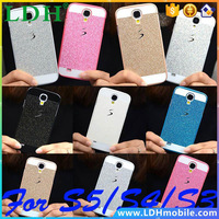 2015 Bling Phone Case Shinning Luxury Cover for Samsung Galaxy S5 S4 S3 back cover Sparkling case for Galaxy S5 G900 Free Gift !