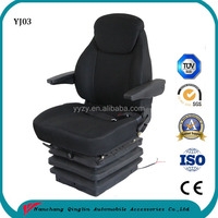 Heavy duty agricultural machine air suspension seat 12v grammer tractor seat