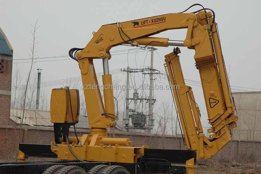 high quality 10ton crane truck in dubai mobile crane 10 ton crane for pick up