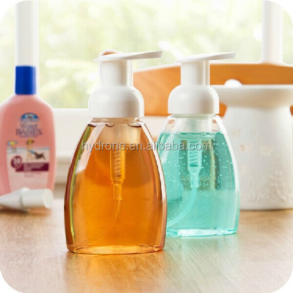 Empty 500ml PET plastic hand wash pump bottle