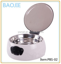 ABS pet sensor bowl automatic pet feeder dog and cat sensor pet bowl