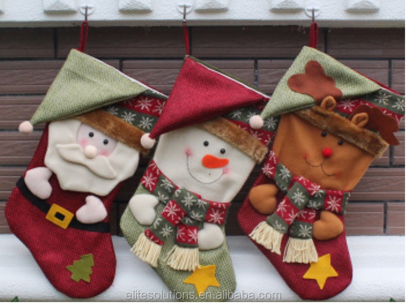 Christmas Gift Woolen Christmas Stockings Christmas <strong>Decoration</strong> Wholesale Available
