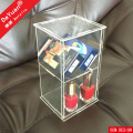 Self Assembled Storage Box / Carved Acrylic Display Case
