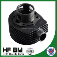 Motorcycle Engine Cast Iron Cylinder Block For Bajaj , Diameter 57.8mm vespa-p-150