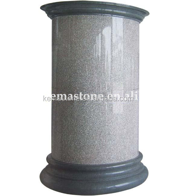 Indoor And Outdoor Decorative Pillars Granite Columns Prices