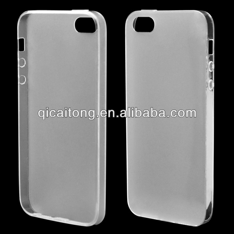 mobile phone ultrathin tpu case with scrub for Iphone 5G/S