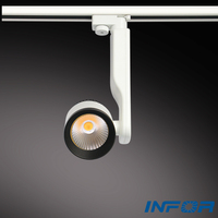 led bean pot lamps Energetic anti-fog&anti-dazzle soft light color cob led track light