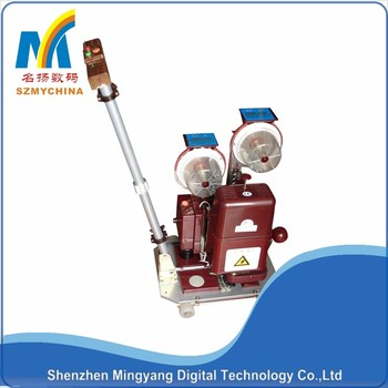 hot sale! stable automatic banner grommet machine with CE