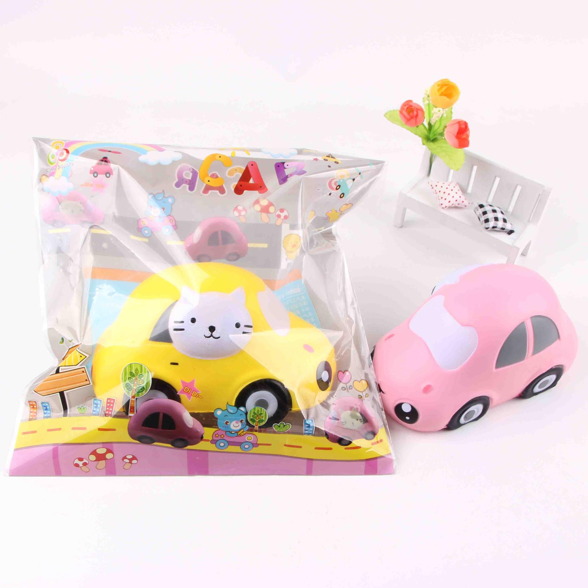 sunny squishy PU soft slow rising small car for kids