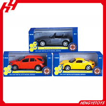Hot sale 1:32 diecast pull back car with open the door model car and music and light