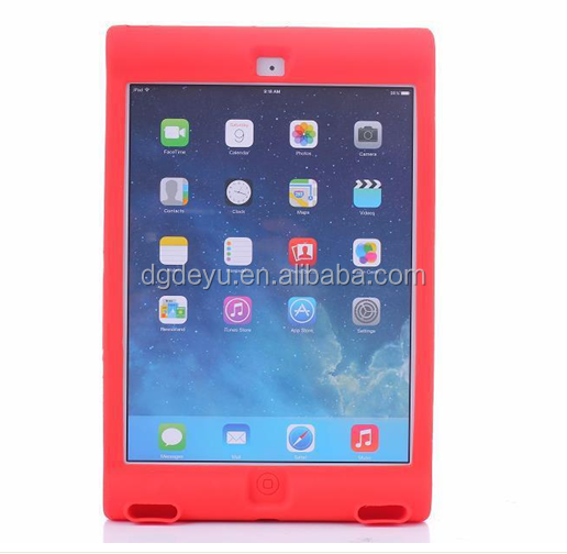 fashion food grade clean silicon cover for ipad,siliocne tablet case