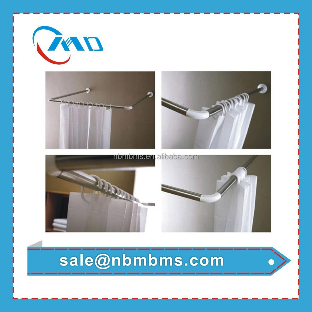 Hot Selling High Quality Cheap Price Bathroom Shower Curtain Flexible Metal Rod