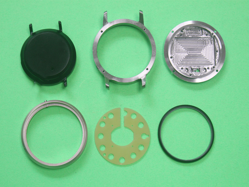 Customized CNC Machining Stainless Steel Watch Case
