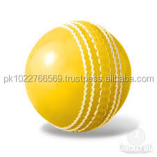 Cow Hide Leather International Cricket Ball With Customized Color and Logo