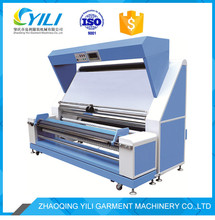 iso edge control knitted woven fabric light inspection machine