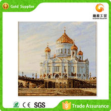 Advanced machine Moscow christ the savior cathedral diy diamond oil painting landscape