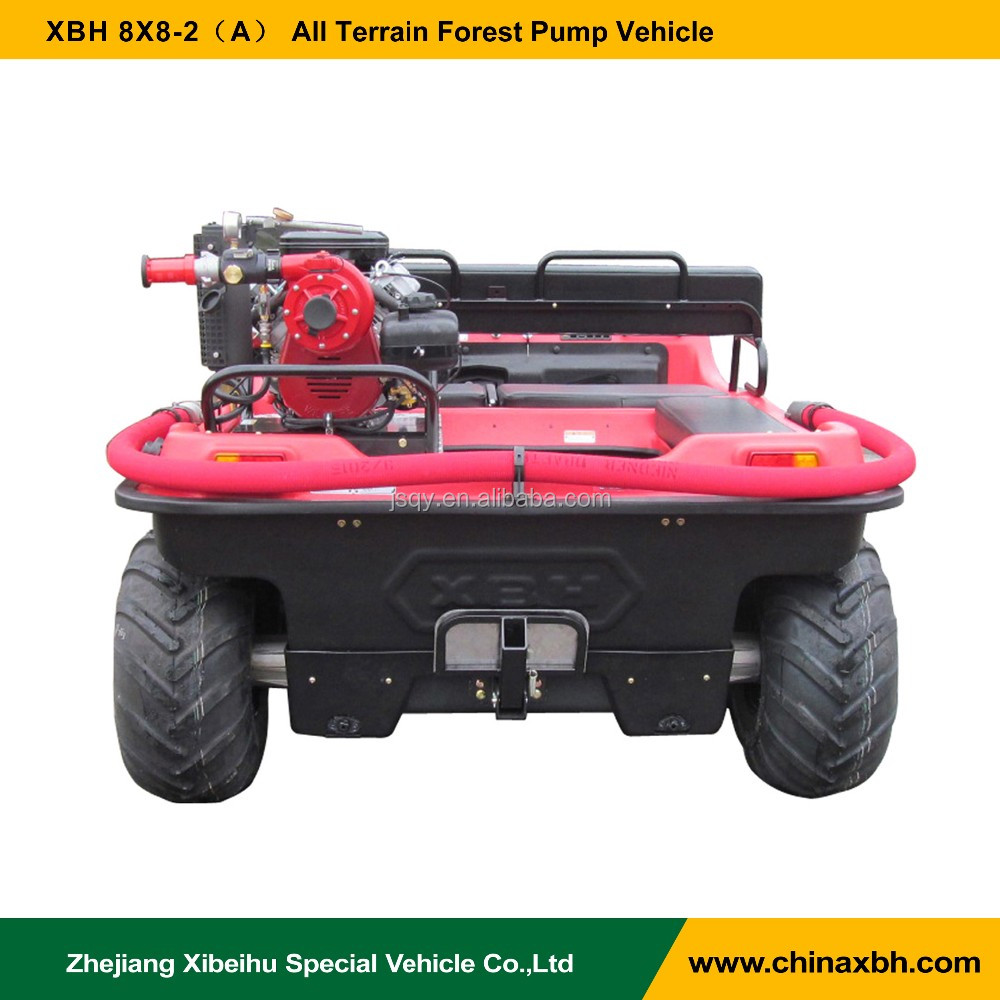 XBH 8X8-2(BB-4) Forest Pump Vehicle with Mini-Striker fire fitting flood and drainage fitting ATV