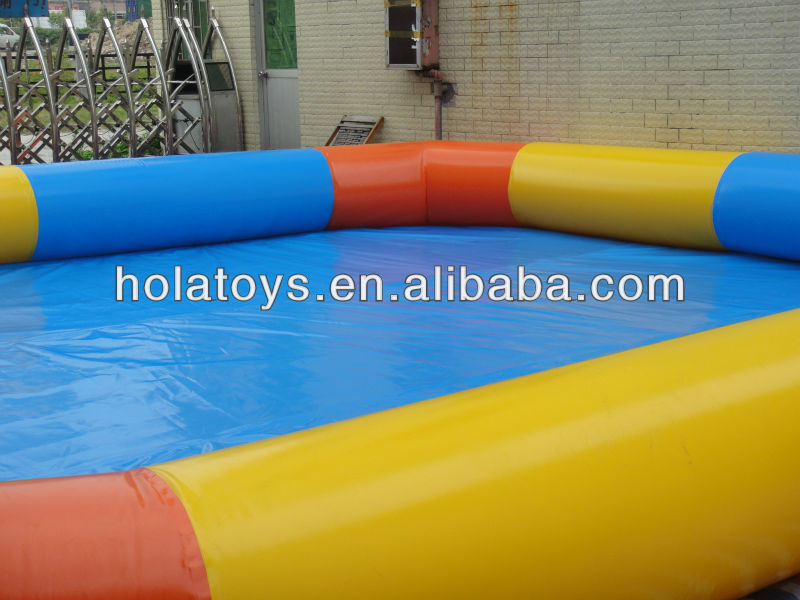 HOLA inflatable pools rental/plastic swimming pool for sale