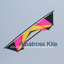 4 line stunt kite/power kite with lines and handles