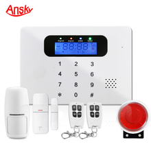 Home security protection,Home and business security Usage GSM home Alarm System