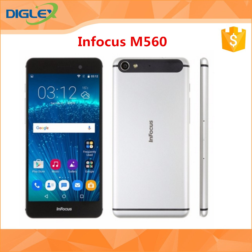 Hot selling China cheap 4G Smart phone Infocus M560 MTK6573 Octa core Mobile phone