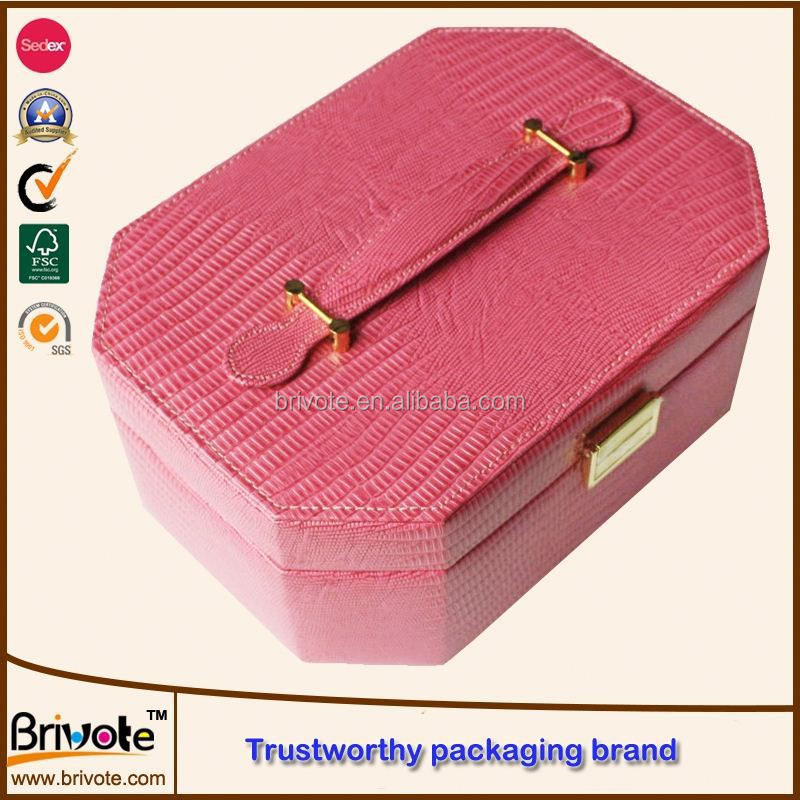 custom cardboard leather wine carrier box/luxury white cardboard leather wine carrier box/leather sunglasses box