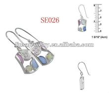 2012 last casting fashion women stainless steel earring