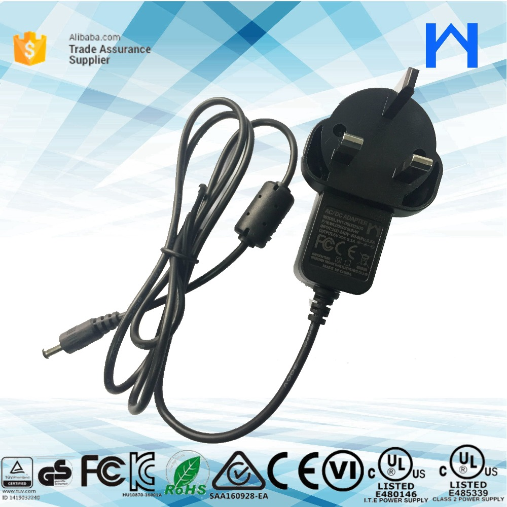 UL 1310 Class 2 power supply 10W 5V 2A PSU Plug in Wall adapter 5Volt 2A DOE VI LEVEL 6 approved