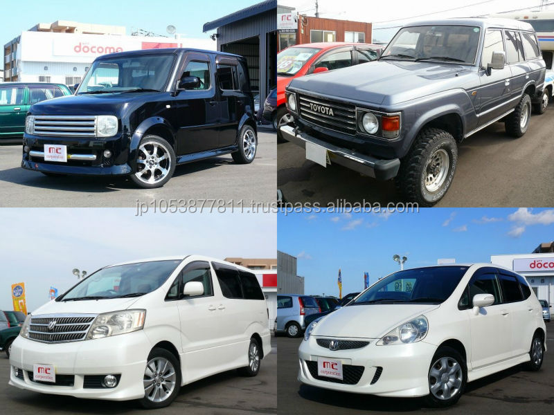 High quality Toyota Alphard used car from Japanese supplier