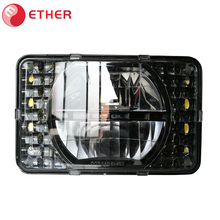 DOT ECE 4x6 led headlight for truck