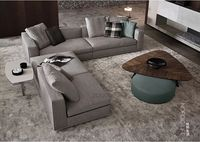 2015 livingroom L shape fabric sofa S122
