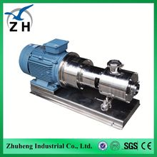 emulsion homogenizing pump food tumbler mixer food drum mixer