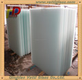 Milk white pvb film laminated safety glass
