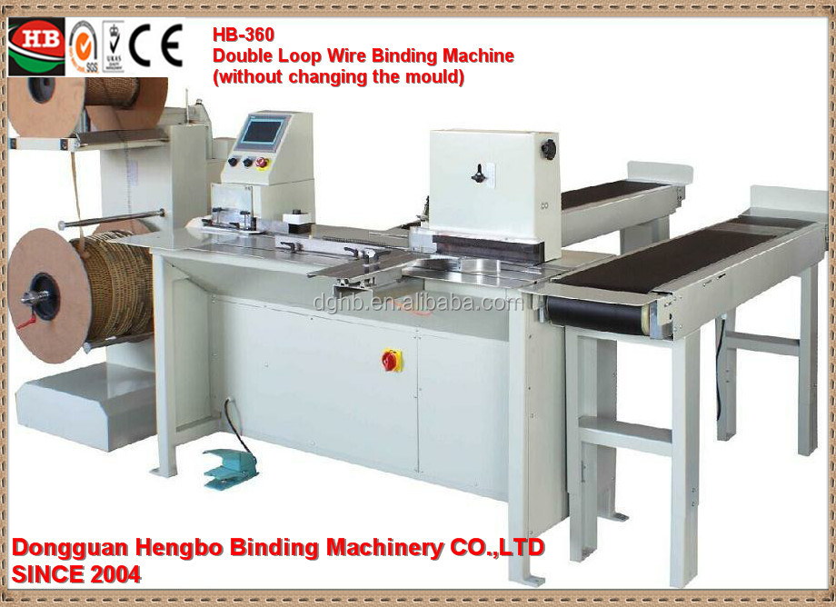 Photo album making machine