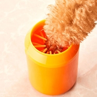 Portable Dog Paw Washer Dog Plunger Feet Cleaner Muddy Paw Cleaner Cup for Dogs Puppy