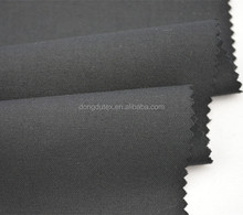Plain woven dyed 30%W/70%P/2%L wool polyester suit fabric for men in shaoxing