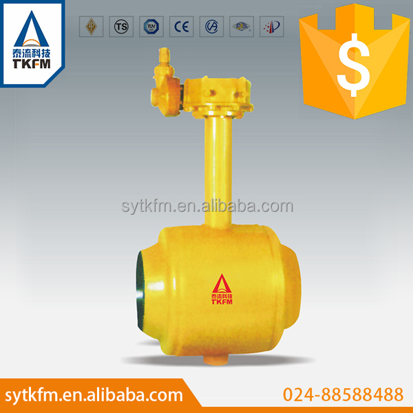 Manual and actuated operated hot sale oil and gas chlorine ball valve with ce certificate