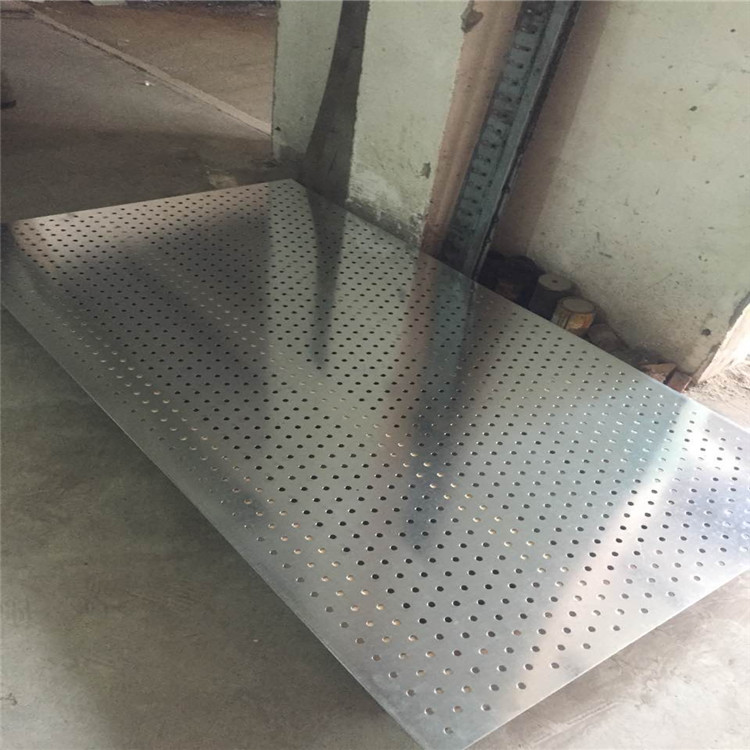 Hot sale perforated metal sieve round hole decorative plat