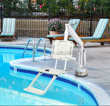 intex swimming pool hydraulic ladder lift