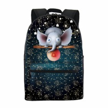 2017 New design kids zoo animal backpack school bags, children school bags Backpack school, Sublimation school bags Backpacks