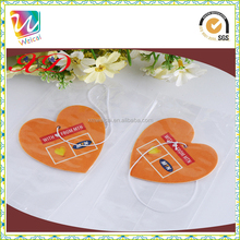 High quality Perfume hanging car air freshener paper