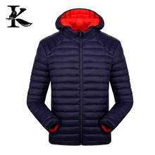 Outdoor sport man winter jacket wear and gentleman insulated padding jacket