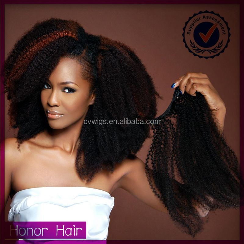 New style 100% unprocessed mongolian afro kinky cirly clip in hair extensions